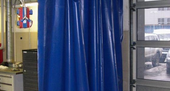 Промышленные шторы и занавеси