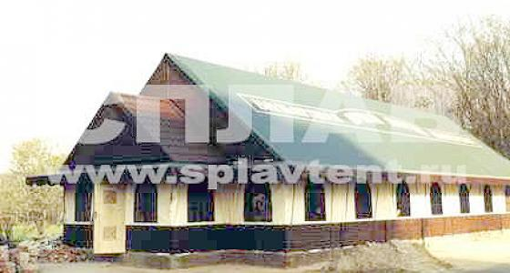 Нестандартные конструкции торговых павильонов и палаток