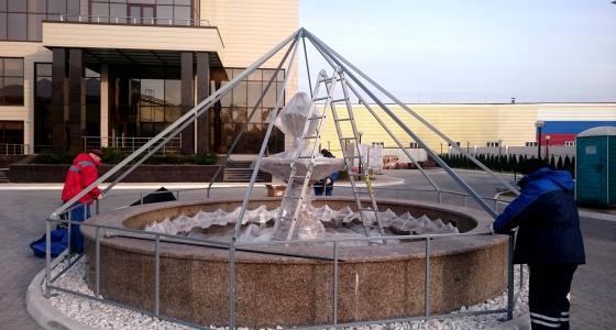 Укрытия для фонтанов